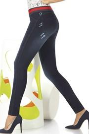 Дамски памучен клин с джинсов дизайн Maddie