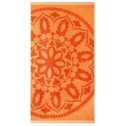 Плажна кърпа Mandala оранжева