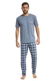 Мъжка пижама Mountain синя