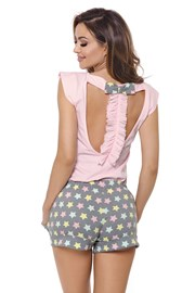 Дамска пижама Susane розова