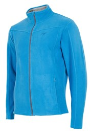 Мъжко спортно поларено горнище Blue