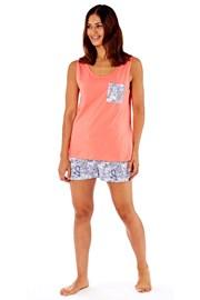 Дамска памучна пижама Paisley