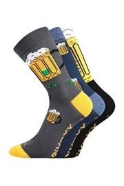 3 pack Мъжки къси чорапи Pivoxx Mix5