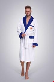 Мъжки халат Polo бял
