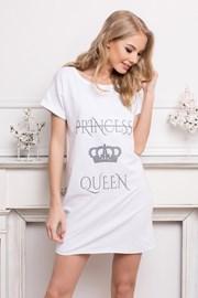 Дамска нощничка Queen бяла