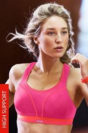 Спортен сутиен Shock Absorber Ultimate Run S5044 Pink без банели