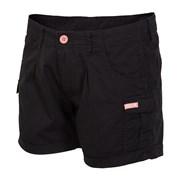 Дамски спортни шорти 4f Black cotton