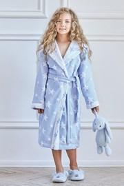 Хавлиен халат за момичета Blue Star