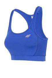 Дамски спортен топ Blue без подплънки
