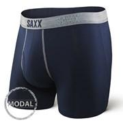 Мъжки боксерки SAXX Platinum Navy Grey
