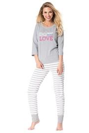 Дамска пижама Do you love