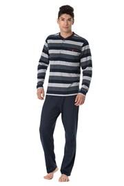 Мъжка пижама RÖSSLI Stripes Long