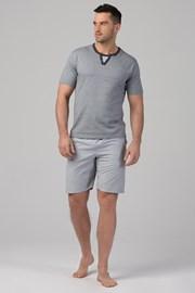 Мъжа пижама RÖSSLI Stripes Grey