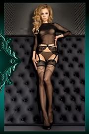 Луксозни силиконови чорапи Smeraldo 390