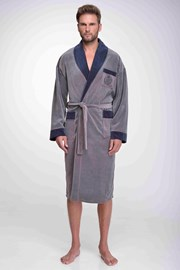Мъжки памучен халат Steve