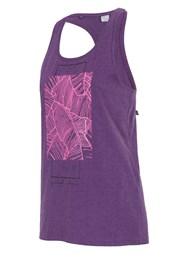 Дамски спортен потник 4f Purple
