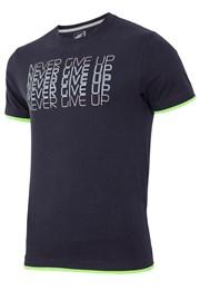Мъжка спортна фланела 4F Never Give Up 100% памук