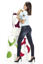 Дамски клин с джинсов дизайн Timea