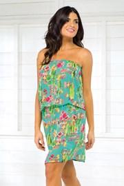 Дамска лятна рокля Vacanze от колекцията Cactus прозирна