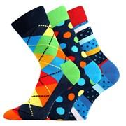3-на опаковка модерни чорапи Woodoo MixA