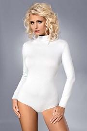 Дамско боди Alberta бяло памучно