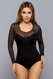 Дамско боди Ali - черно