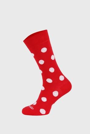 Чорапи Fusakle червени на точки