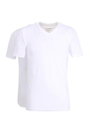 2pack мъжки фланели Slim White