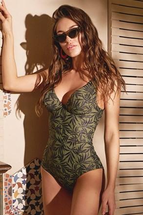 Дамски цял бански Green nature