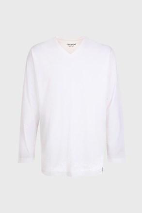 Мъжко горнище на пижама White