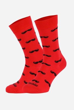 Чорапи Fusakle Мустак червени