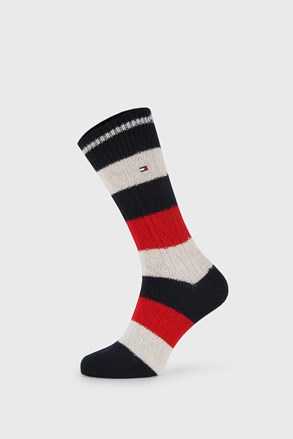 По-дълги чорапи Tommy Hilfiger Cable Rugby