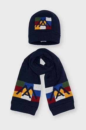 Комплект за момчета от шапка и шал Mayoral