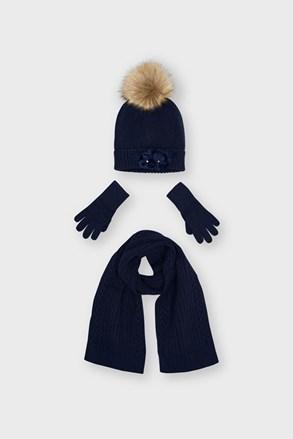 Комплект за момичета от шапка и шал Mayoral