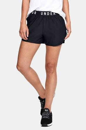 Черни спортни къси панталони Under Armour Play Up