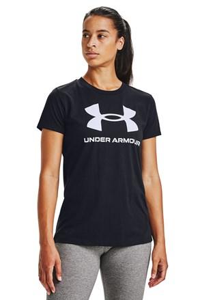 Черна тениска Under Armour Live