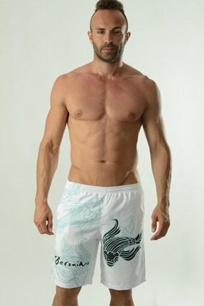 Мъжки бански шорти GERONIMO Cyprinus бели