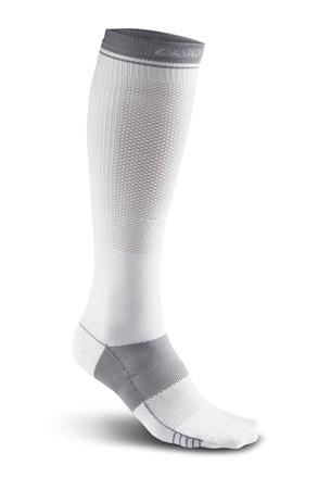 Три четвърти чорапи CRAFT Body Control бели