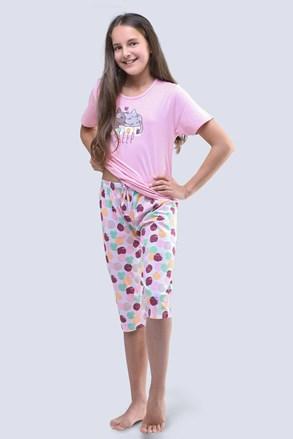 Пижама за момичета Cats розова