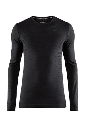 Мъжка фланела CRAFT Fuseknit Comfort Black