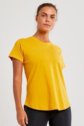 Дамска фланелка CRAFT Deft жълта