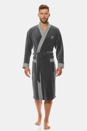 Сив халат Royal