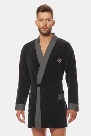 Черен халат Royal BJ