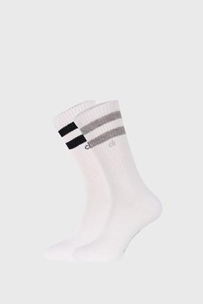 2 PACK бели чорапи Calvin Klein Maurice