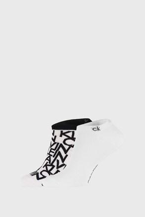 2 PACK бели чорапи Calvin Klein Deangelo