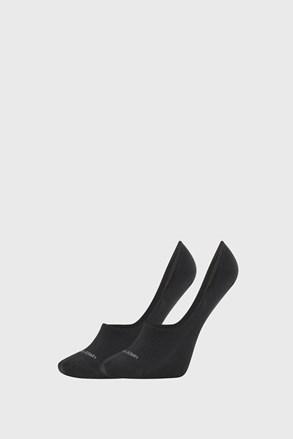 2 PACK черни дамски чорапи Calvin Klein Jessica