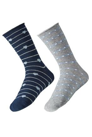 2 pack дамски чорапи Ely