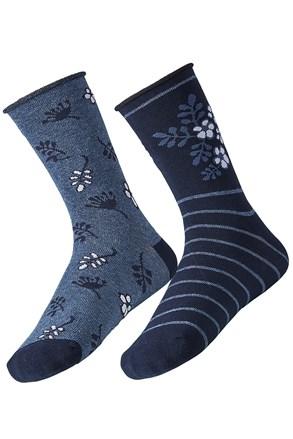 2 pack дамски чорапи Flower