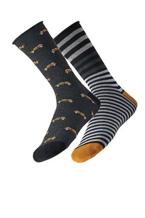 2 pack мъжки чорапи Car
