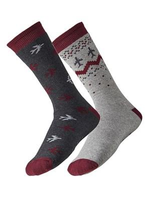 2 pack мъжки чорапи Plane
